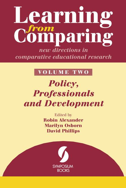 Learning from Comparing: new directions in comparative education research - Volume 2