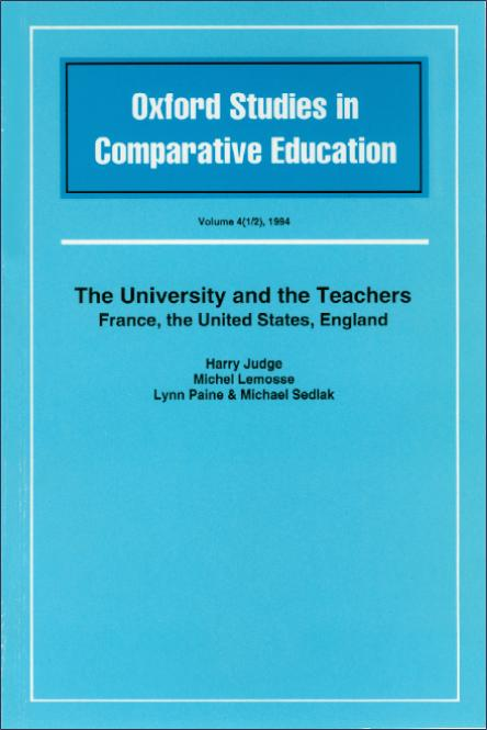 The University and the Teachers
