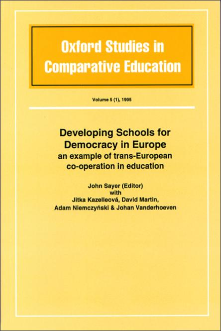 Developing Schools for Democracy in Europe